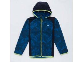 Chlapecká softshellová bunda WOLF B2965 - tm. modrá (Velikost 140/146)