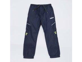 Chlapecké šusťákové kalhoty WOLF T2953 - tm. modré (Velikost 140)