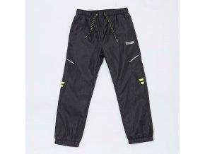 Chlapecké šusťákové kalhoty WOLF T2953 - tm. šedé (Velikost 140)