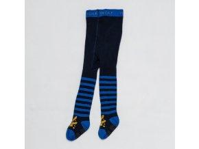 Dětské punčocháče WOLF P2810 - tm. modré-pruh (Velikost 86/92)