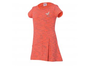 Dívčí funkční šaty WOLF H2949 - oranžové (Velikost 128)