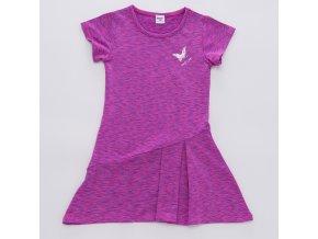Dívčí funkční šaty WOLF H2949 - fialové (Velikost 128)