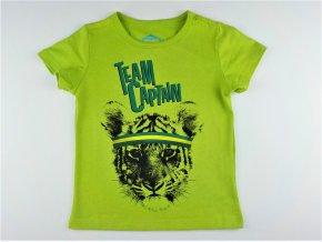 Chlapecké triko Dantony - zelené, tygřík (Velikost 134)