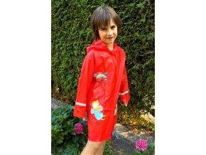 Dívčí pláštěnka WOLF Y2807 - červená (Velikost 92/98)