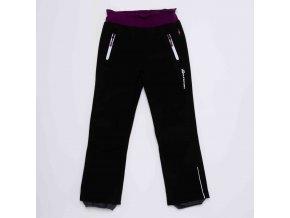 Dívčí softshellové kalhoty WOLF B2992 - černé (Velikost 146)