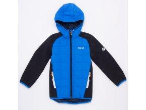 Chlapecká softshellová bunda WOLF B2966 - modrá (Velikost 140/146)