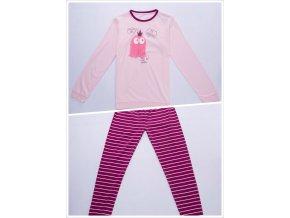 Dívčí pyžamo WOLF S2853 - růžové (Velikost 164)