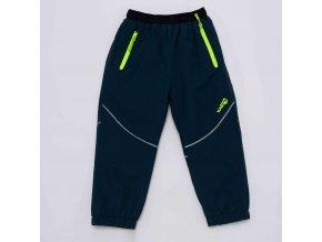 Dětské šusťákové kalhoty s flísem WOLF B2971 - petrolej (Velikost 92)