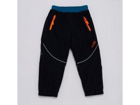 Dětské šusťákové kalhoty s flísem WOLF B2971 - tm. modré (Velikost 92)