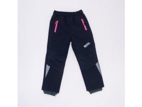 Dětské softshellové kalhoty WOLF B2989 - tm. modré (Velikost 128)