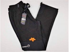 Pánské outdoorové kalhoty NEVEREST F-8208M - černo-khaki (Velikost XXL)