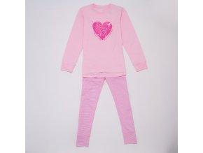 Dívčí pyžamo WOLF S2953 - růžové (Velikost 164)