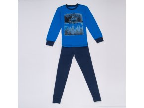Chlapecké pyžamo WOLF S2956B - modré (Velikost 170)