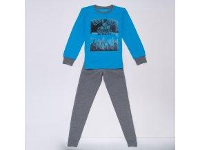Chlapecké pyžamo WOLF S2956B - tyrkysové (Velikost 170)