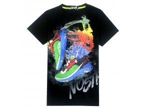 Chlapecké triko KUGO ET-3156 - černé (Velikost 164)