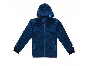 Chlapecká softshellová bunda WOLF B2764 - tm.modrá (Velikost 104/110)