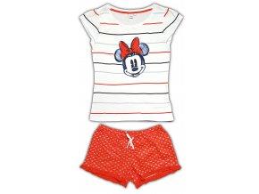 Dámské pyžamo MINNIE 3585 - bílá, červená