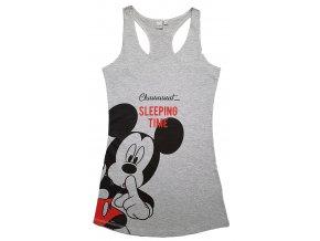 Dámská noční košile MICKEY MOUSE 3598 - šedý melír