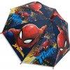 Dětský deštník SPIDERMAN 9712 - modrá/červená