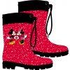 Dívčí holínky MINNIE+MICKEY 52558336 - červené