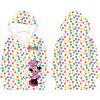 Dívčí pláštěnka MINNIE 52288980 - transparentní, barevné puntíky