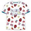 Dětské triko SPIDERMAN SUPERHERO 52021139 - bílé