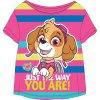 Dětské triko TLAPKOVÁ PATROLA 52021462 - růžové