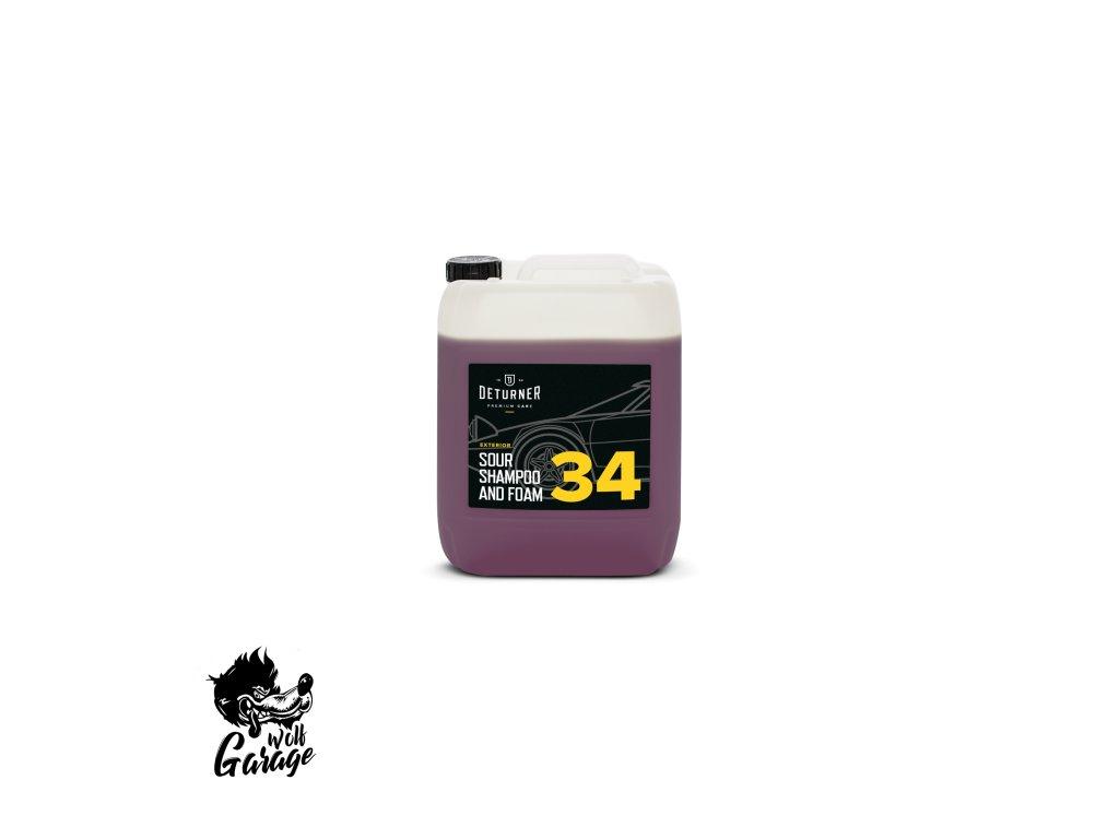 deturner sour shampoo foam 5 l