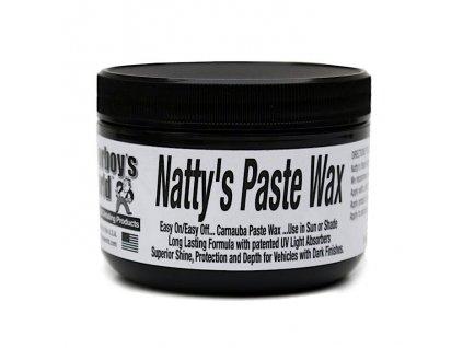 poorboys nattys paste wax black 227g