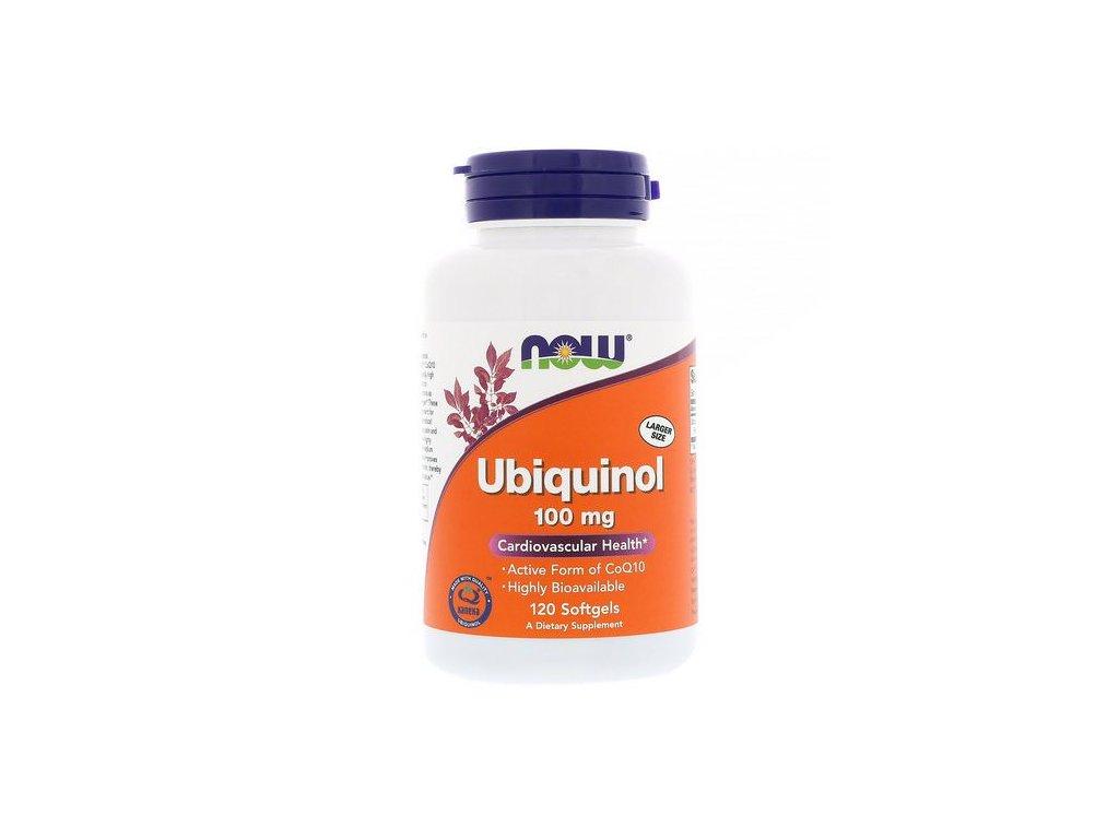 now foods ubiquinol 100 mg 120 softgels