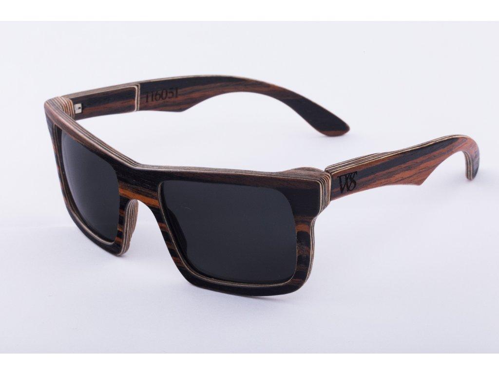 Dřevěné brýle Hanalei