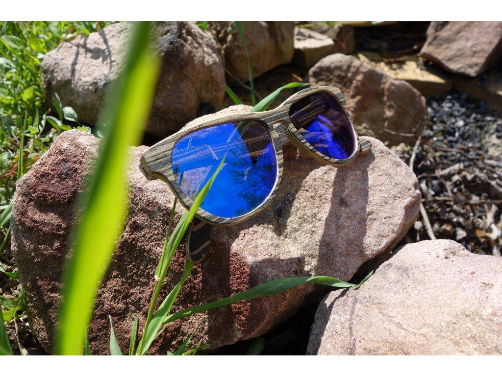 dřevěné brýle Šonan