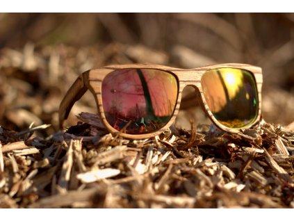 Dřevěné brýle Tofino
