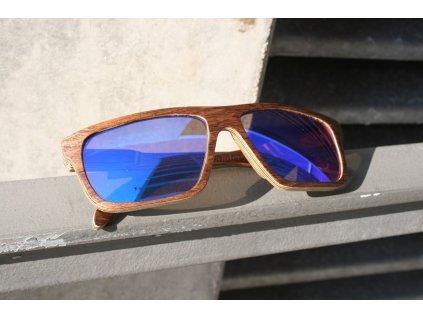 Dřevěné brýle Model 6