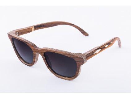 Dřevěné brýle Tágo