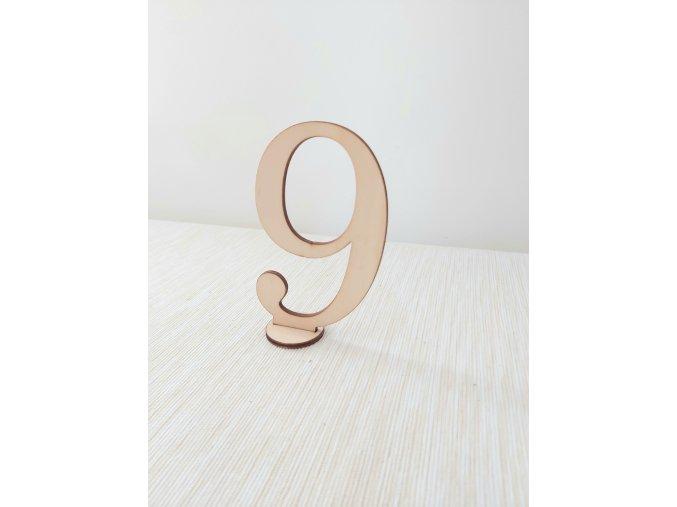 Číslování stolů 2