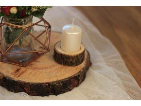 Svícen dřevěný