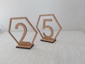 Číslování stolů 1
