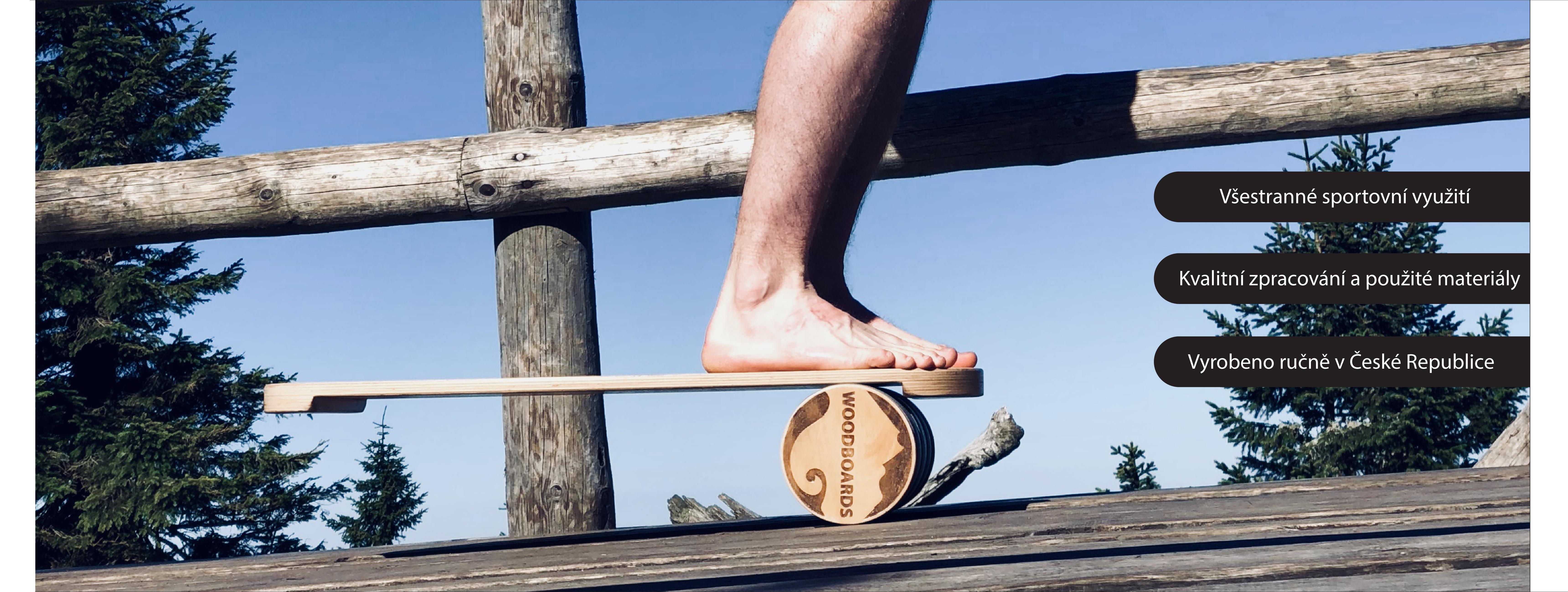 Woodboards balanční deska