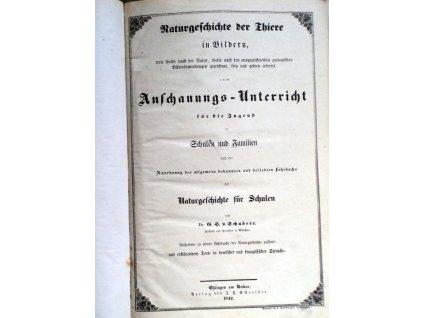 Schubert - Naturgeschichte 1841