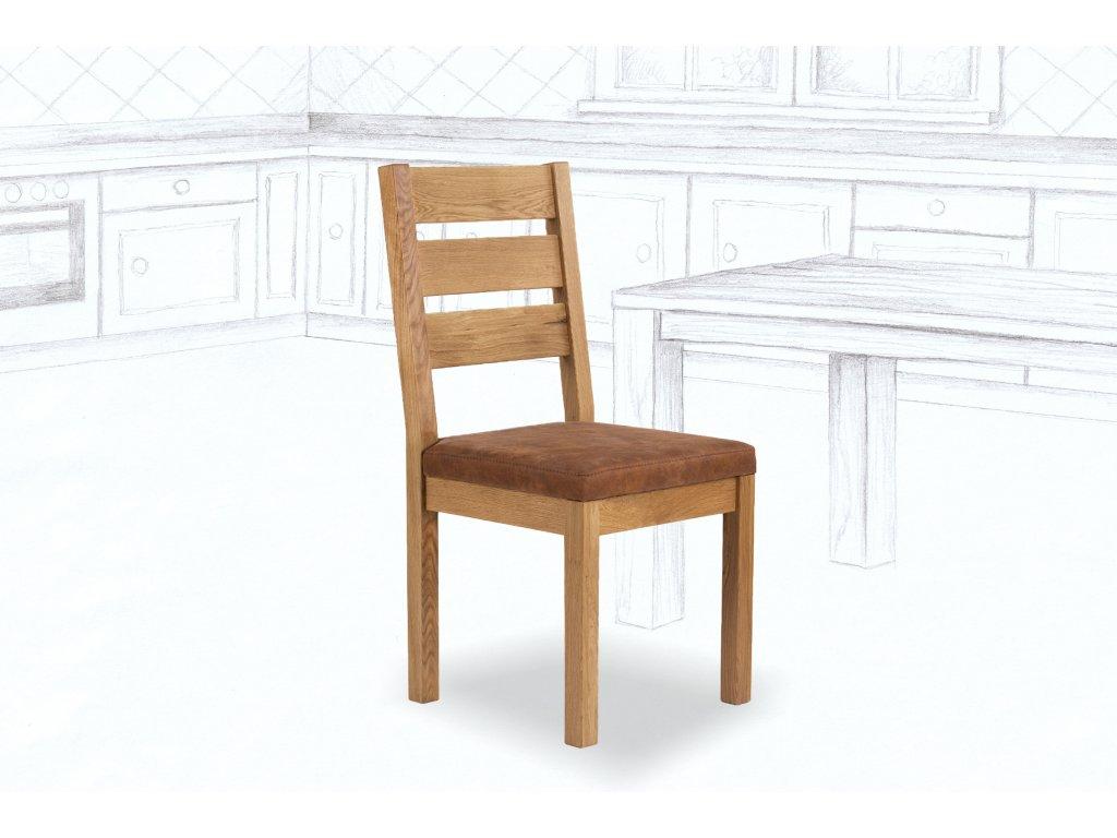 Jídelní židle Durham Comfort z masivu DUB