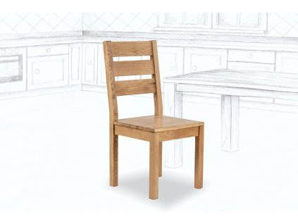 Jídelní židle Durham z masivu DUB