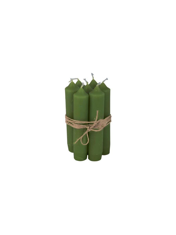 Sviečky zelené