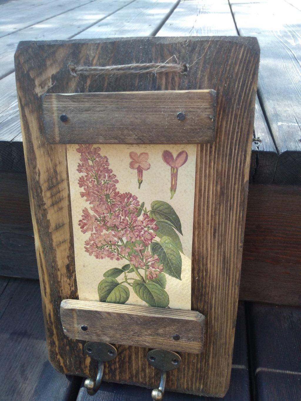 Kvetinový vešiak orgován