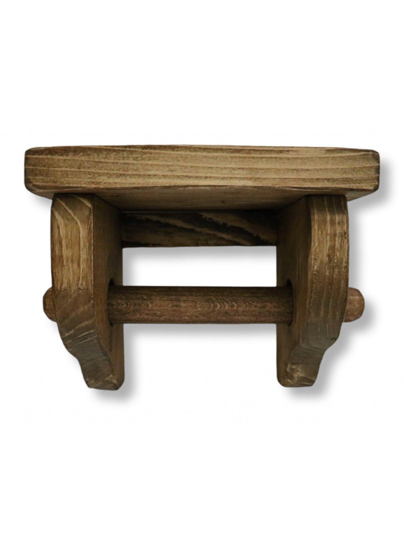Vidiecky držiak na toaletný papier