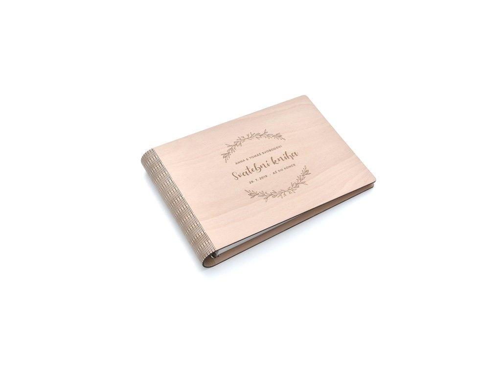 Wooden Moment - Svatební kniha 2