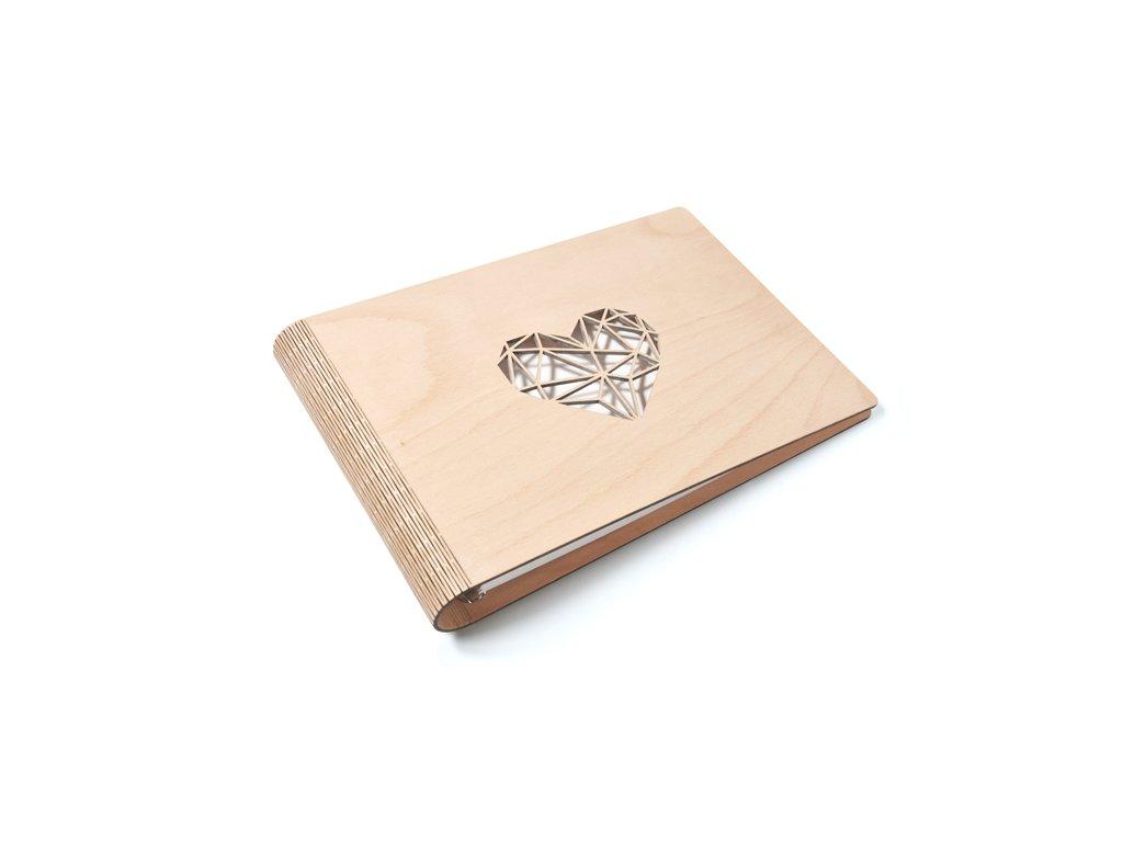 Wooden moment drevene svatebni album