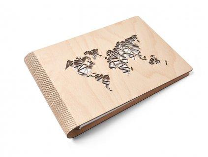 Wooden moment dřevěné album Svět