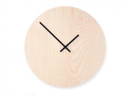 Dřevěné hodiny Wooden Moment Classic Javor