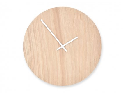 Dřevěné hodiny Wooden Moment Classic Dub